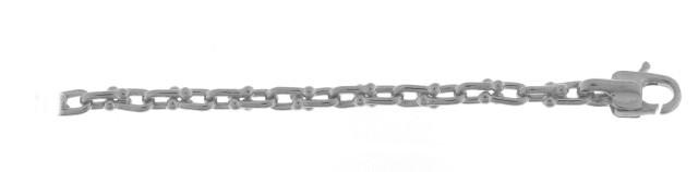Bracelet Or Blanc 750 millièmes. Création Chimento. Existe dans plusieurs couleurs d'or et plusieurs largeurs