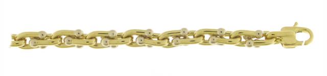 Bracelet Or Jaune 750 millièmes. Création Chimento. Existe dans plusieurs couleurs d'or et plusieurs largeurs