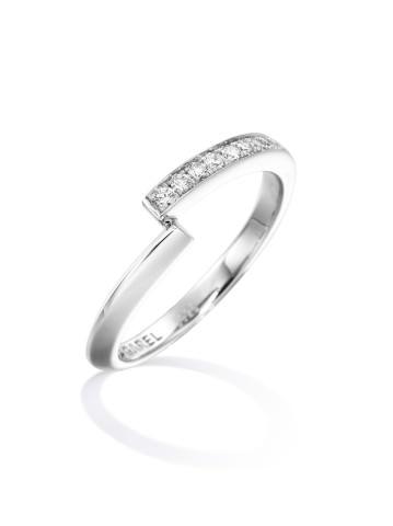 Alliance ENVOL - Or blanc & Diamant - Création GAREL