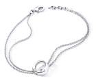 Bracelet ENVOL - Or blanc & Diamant - Création GAREL