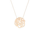 Collier BLASON - Or rose - Création GINETTE NY