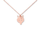 Collier LOUP - Or rose - Création GINETTE NY