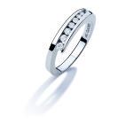 Alliance NEIMA - Or blanc & Diamant - Création GAREL
