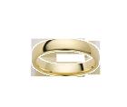 Alliance Demi-Bombée Or Jaune 750 millièmes. Existe dans plusieurs couleurs d'or et dans plusieurs largeurs